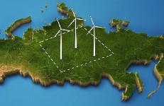 Актуальная карта проектов ветропарков России появится воткрытом доступе
