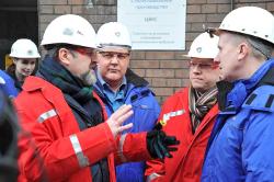 Череповецкую площадку «Северстали» посетил Министр природных ресурсов иэкологии Российской Федерации Сергей Донской