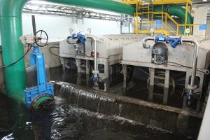 Производительность очистных сооружений шахты «Распадская» увеличилась вдвое.