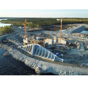 Максим Быстров принял участие вмероприятии наплощадке строительства Белопорожских ГЭС