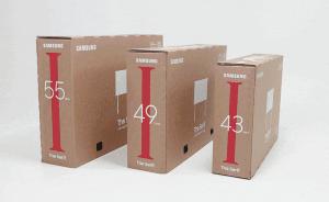Samsung Eco-Package дарит вторую жизнь картонной упаковке телевизоров