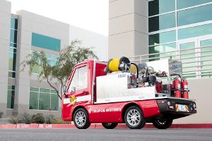 Panasonic истартап Tropos Motors показали первые образцы eCUV— компактных электромобилей длябизнеса
