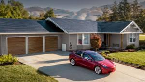 Tesla Solar Roof может появиться запределами США