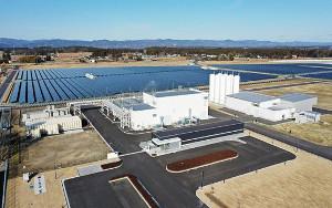 ВЯпония запустили крупнейший завод попроизводству «зеленого» водорода