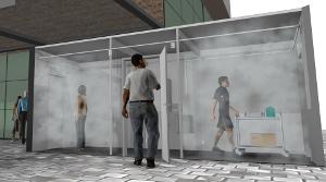 Мобильный контейнер длядезинфекции, работающий насолнечной энергии, обеспечивает защиту отCoVid 19