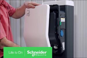 Volvo зарядится отSchneider Electric