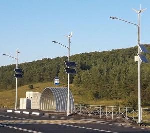 Эффективное инедорогое решение дляосвещения участков дорог отSun Shines