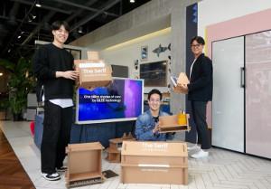 Отидеи довоплощения: как создавалась «зеленая» экоупаковка телевизоров Samsung