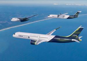 Самолеты снулевым уровнем выбросов представил Airbus