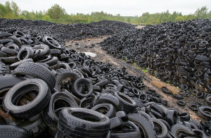 Жители Камчатки будут получать по100 рублей закаждую сданную покрышку