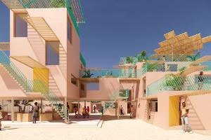 Переработанный пластик, как материал длястроительства домов вАфрике