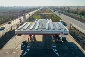 «Шелл» и«Хевел» реализовали первый проект пообеспечению АЗС солнечной энергией