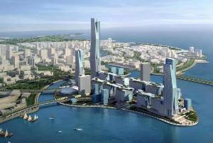 The Line— поект «углеродно-положительного» мегаполиса наАравийском полуострове