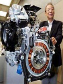 Honda представила первое в мире спортивное авто с гибридным двигателем