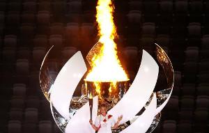 Олимпийский огонь вТокио впервые поддерживается «зеленым» водородом