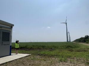 Летний ветер Адыгеи обеспечивает бесперебойную работу ветропарка