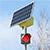 ВНягани появились светофоры насолнечных батареях